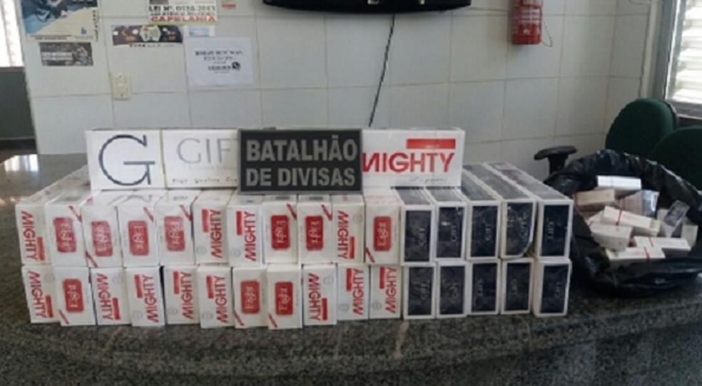Polícia foi informada que o comércio funcionaria na comercialização de munições de arma de fogo. (Foto: SSPDS/Divulgação)