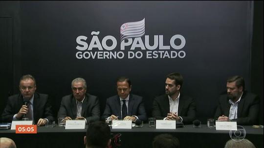 Governadores do PSDB defendem a inclusão dos estados na reforma da Previdência