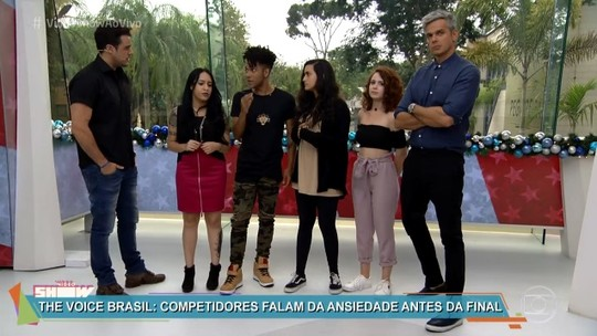 Finalistas do 'The Voice Brasil' participam do 'Vídeo Show'