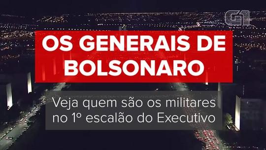 Os generais de Bolsonaro: quem são os militares de mais alta patente no círculo do presidente eleito