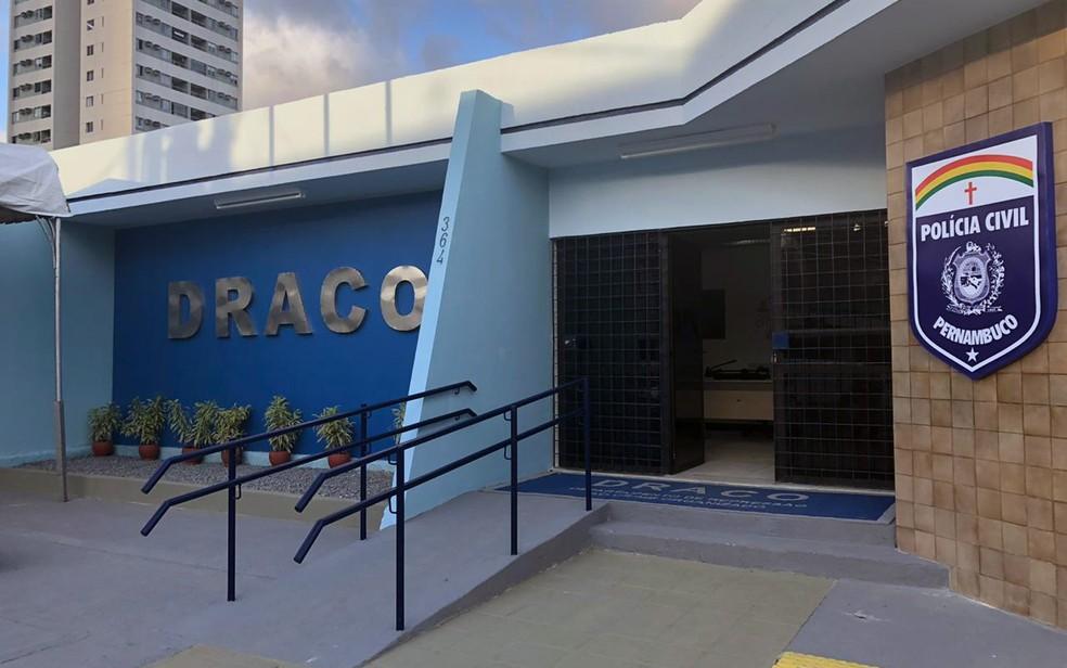 Sede do Draco fica na Zona Oeste do Recife — Foto: Pedro Alves/G1