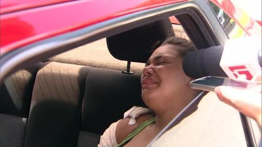 'Acabaram com a minha vida', diz mãe de bebê morta no Rio