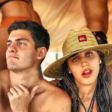 Giovanna e o namorado, João Vitor (Foto: Reprodução/ Instagram)
