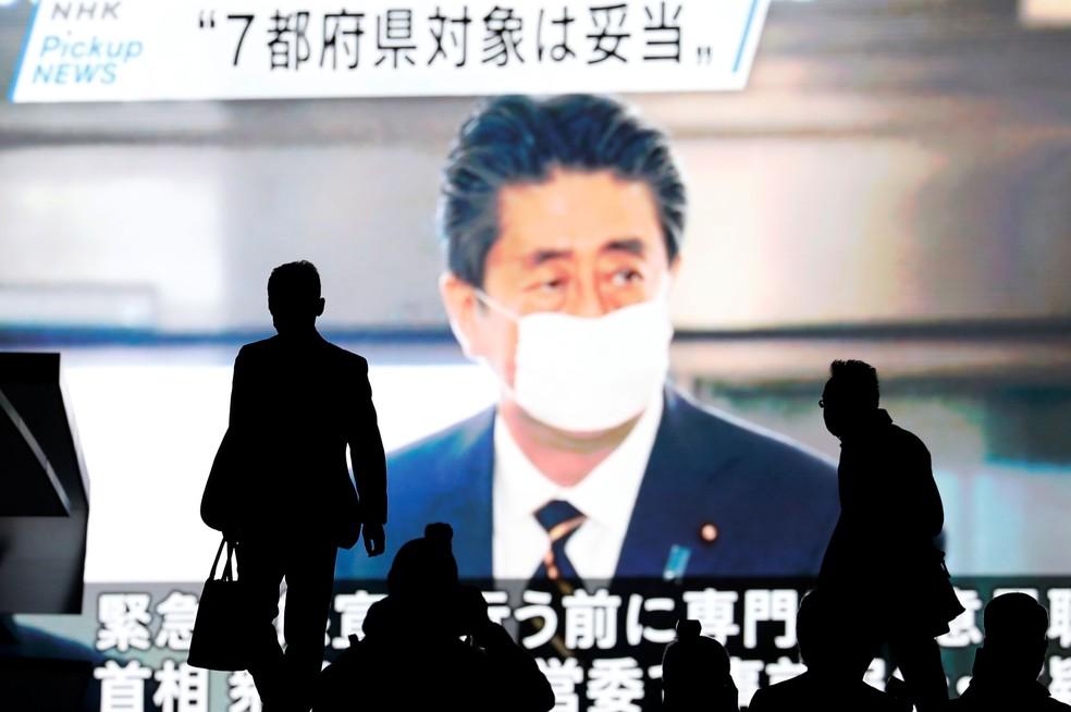 Japão declara estado de emergência em sete regiões por causa do ...