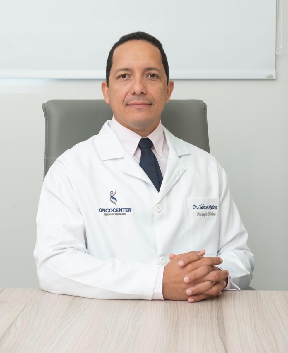 Médico oncologista Cleberson Queiroz alerta sobre a importância da prevenção — Foto: Assessoria