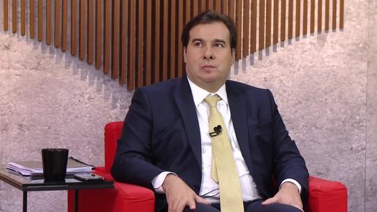 Central GloboNews entrevista Rodrigo Maia; ASSISTA