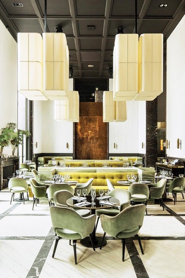 15 restaurantes soberanamente estilosos em Paris (Foto: Mathieu Rainaud)
