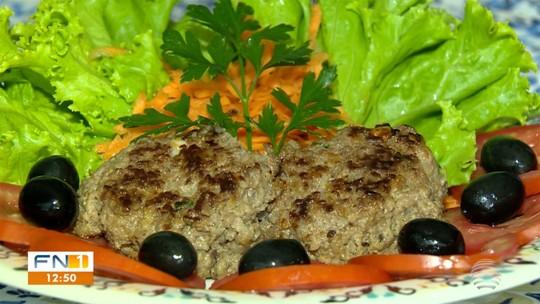 Hambúrguer caseiro é nutritivo e fácil de fazer