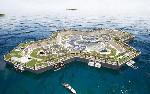 Ilha artificial nas Bahamas vende casas e mansões por até R$ 5 bilhões