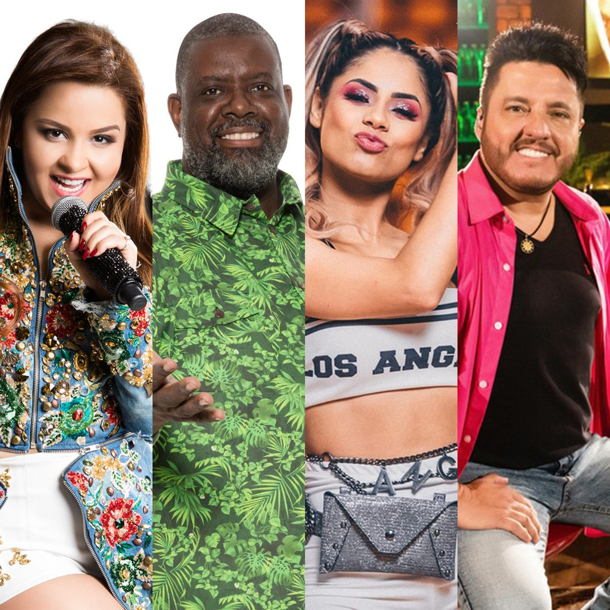 Lives de hoje: Maiara e Maraisa, Péricles, Lexa, festival com Bruno e Marrone e mais shows