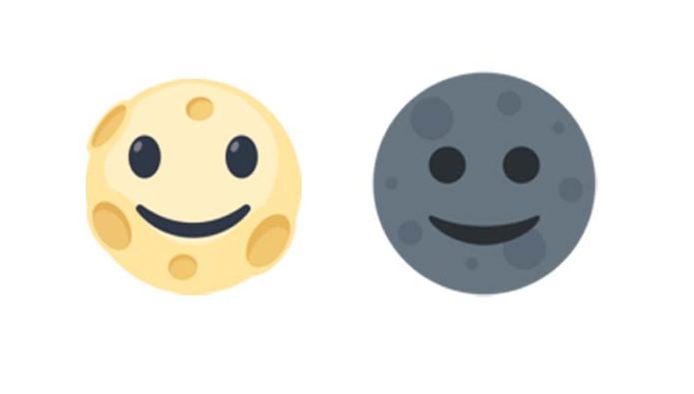 O emoji de lua é pouco compreendido pelos usuários (Foto: Reprodução/ Emojipedia)