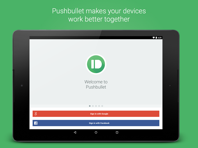 Pushbullets permite enviar mensagens e arquivos do PC para smartphones (Foto: Divulgação)