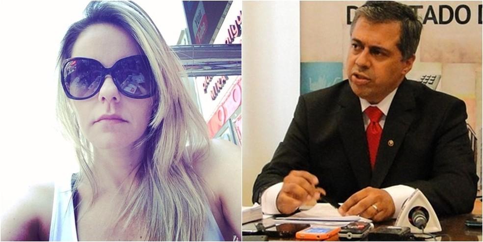 Promotor André de Pinho foi denunciado pela morte de sua mulher, Lorenza. — Foto: Arquivo G1