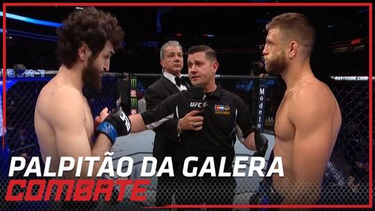 Palpitão da Galera: UFC Moscou