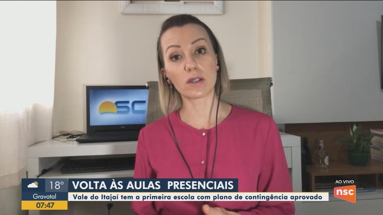 Vale do Itajaí tem a primeira escola com plano de contingência aprovado