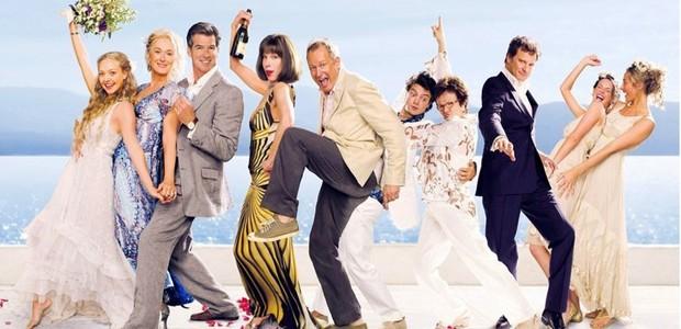 Elenco do filme Mamma Mia (Foto: Divulgação)