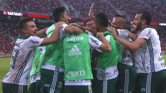 Derrotado pelo Palmeiras, Atlético-PR perde invencibilidade de seis meses na Arena