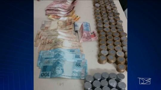 Polícia encontra trabalho para prender suspeito de roubar loja no MA