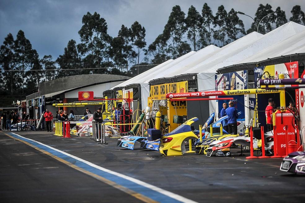 Velopark, em Nova Santa Rita, será a 8ª etapa da temporada — Foto: Duda Bairros / Vicar