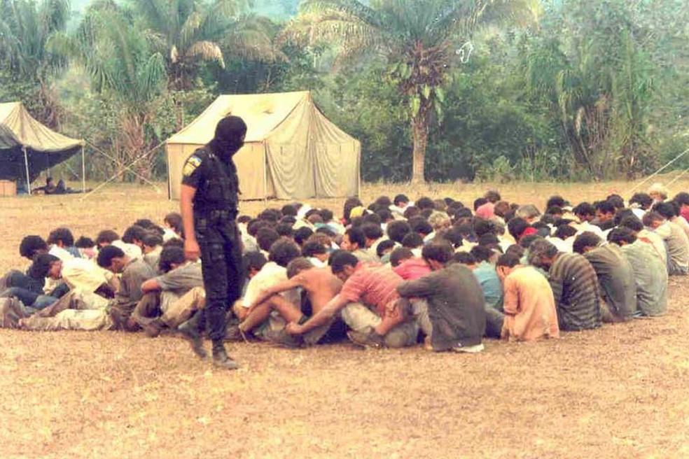 Massacre de Corumbiara aconteceu em 1995 — Foto: Reprodução