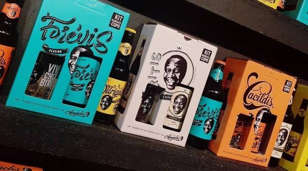 As cervejas Biritis, Forévis e Cacildis da Brassaria Ampolis (Foto: Reprodução/Instagram)
