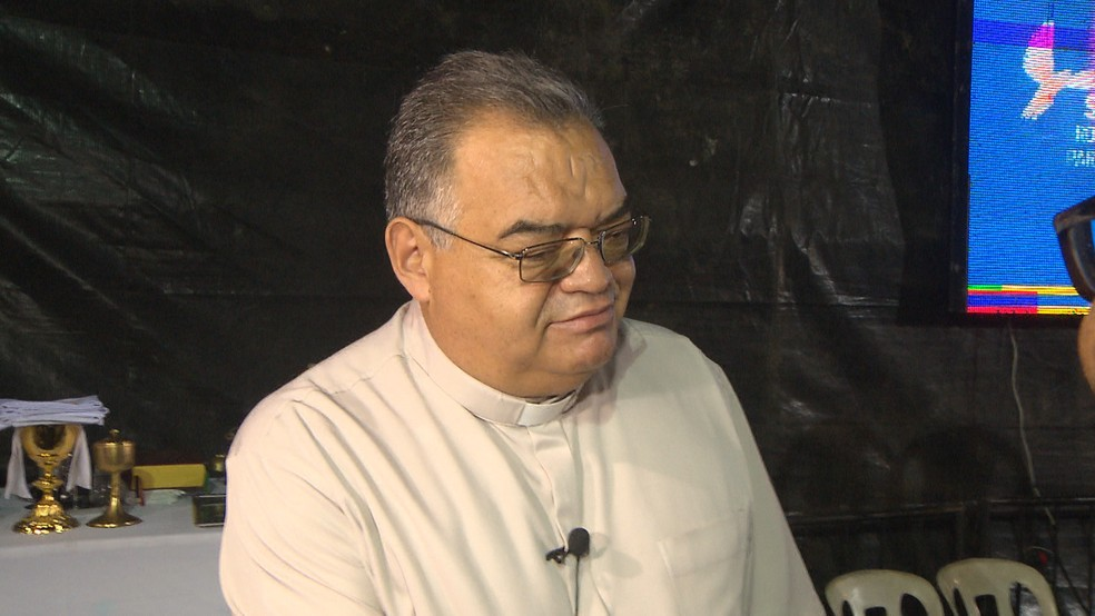 Dom Manoel Delson avalia a Romaria como um ato de extrema importância para o momento turbulento que o Brasil vive — Foto: TV Cabo Branco