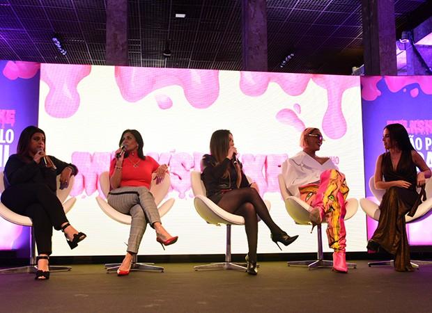 Preta Gil, Gretchen, Simony, Pabllo Vittar e Wanessa (Foto: Leo Franco / AgNews)