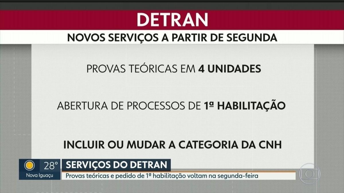 Detran retoma alguns serviços no RJ a partir de segunda-feira; veja locais de funcionamento – G1