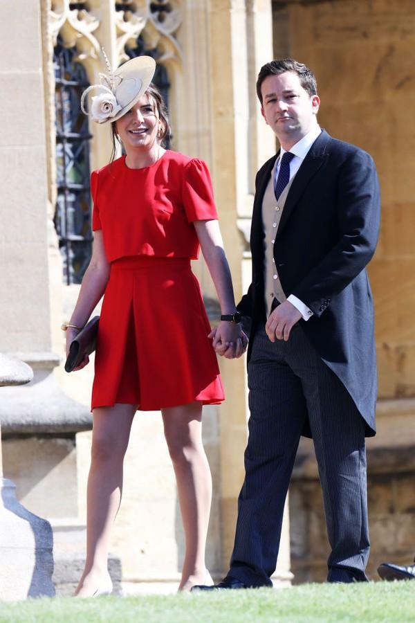 Rebecca Deacon e Adam Priestley (Foto: Getty Images)
