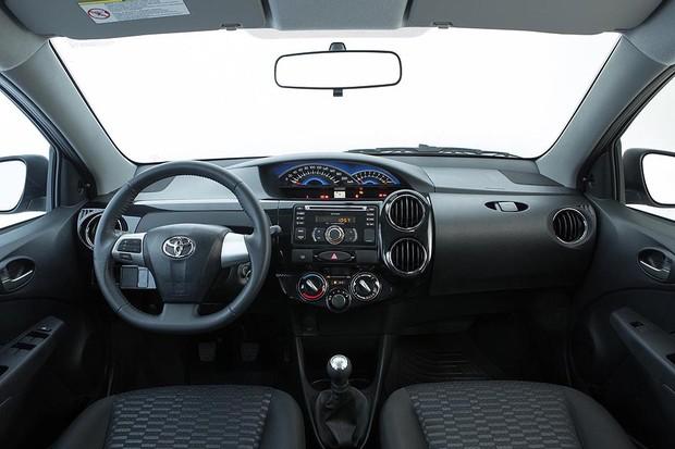 Toyota Etios 2014 (Foto: Divulgação)