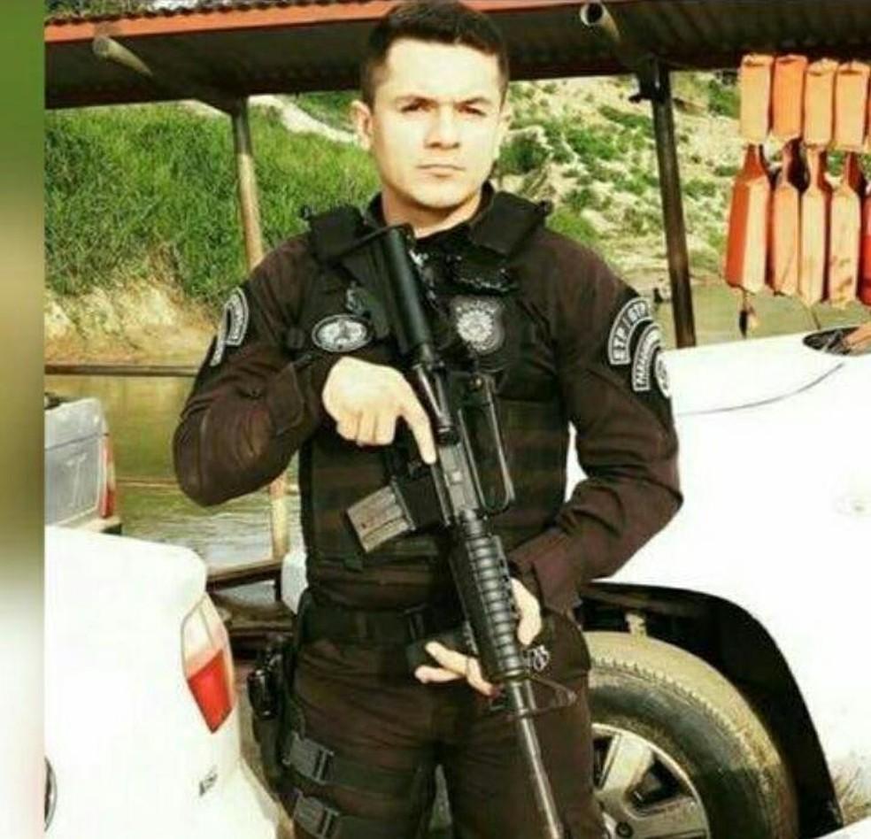 Juscelino de Queiroz ficou em estado grave após ser baleado por tenente da reserva da PM-AC — Foto: Divulgação/Sejusp