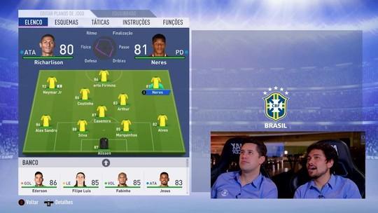 FIFA 19: Chamada de Video analisa grupo do Brasil e simula resultados