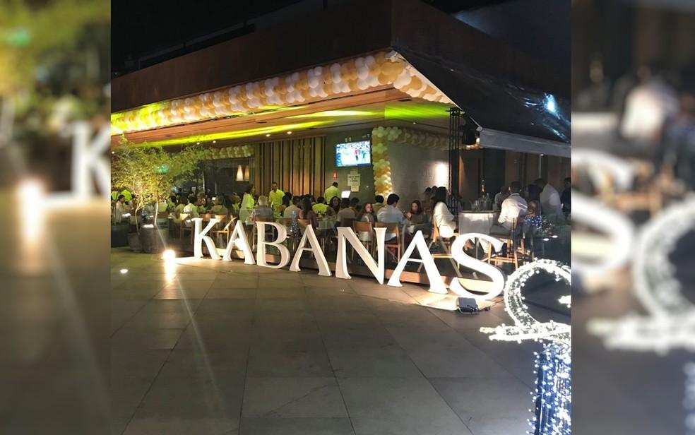 Réveillon no restaurante Kabanas Flamboyant, em Goiânia  — Foto: Divulgação/Evento