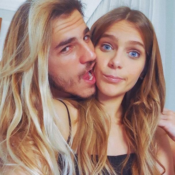 Caio Vaz e Isabella Santoni (Foto: Reprodução / Instagram)