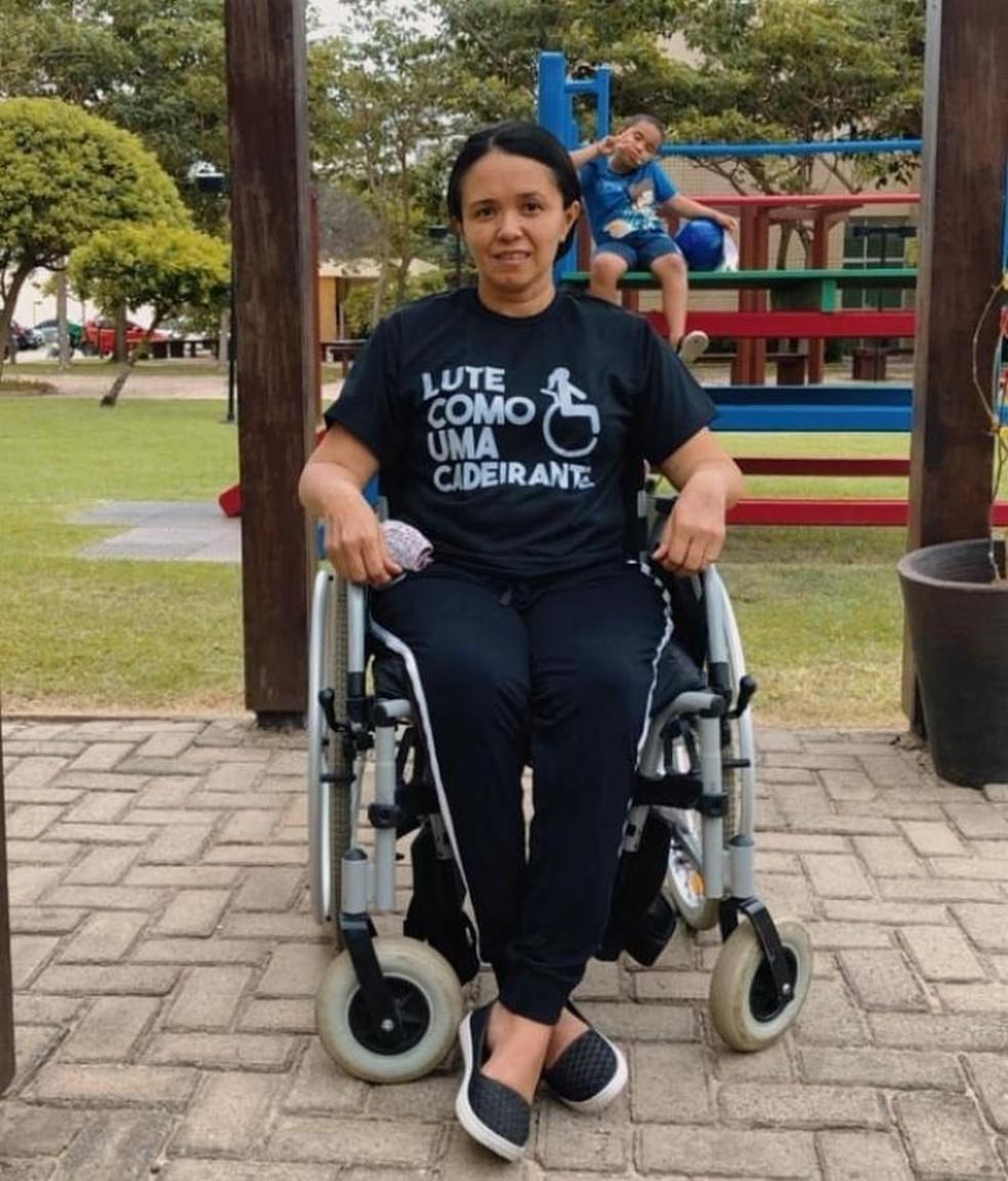 Maranhense com Esclerose Lateral Primária faz campanha para comprar cadeira de rodas; saiba como ajudar — Foto: Arquivo Pessoal