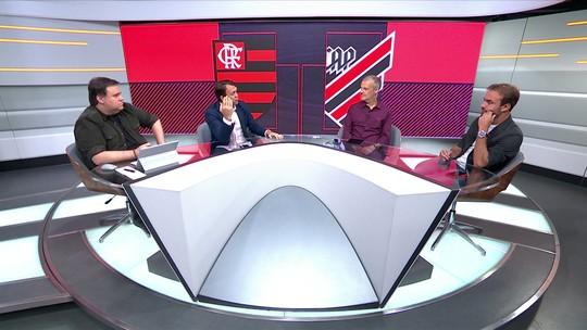 Petkovic faz análise das falhas do Flamengo no gol do Athletico