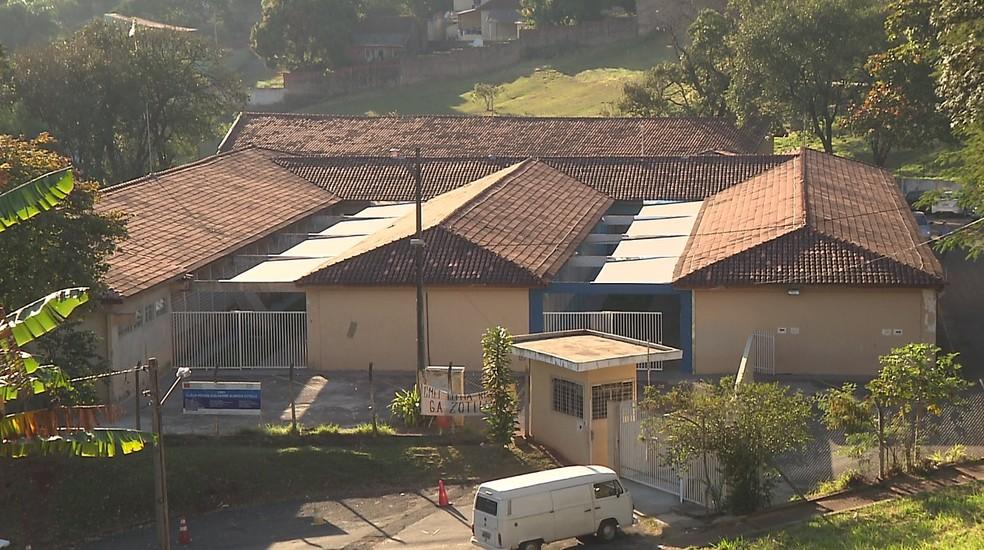 Atualmente, prédio da Secretaria de Educação abriga um CMEI (Foto: Reprodução/RPC)