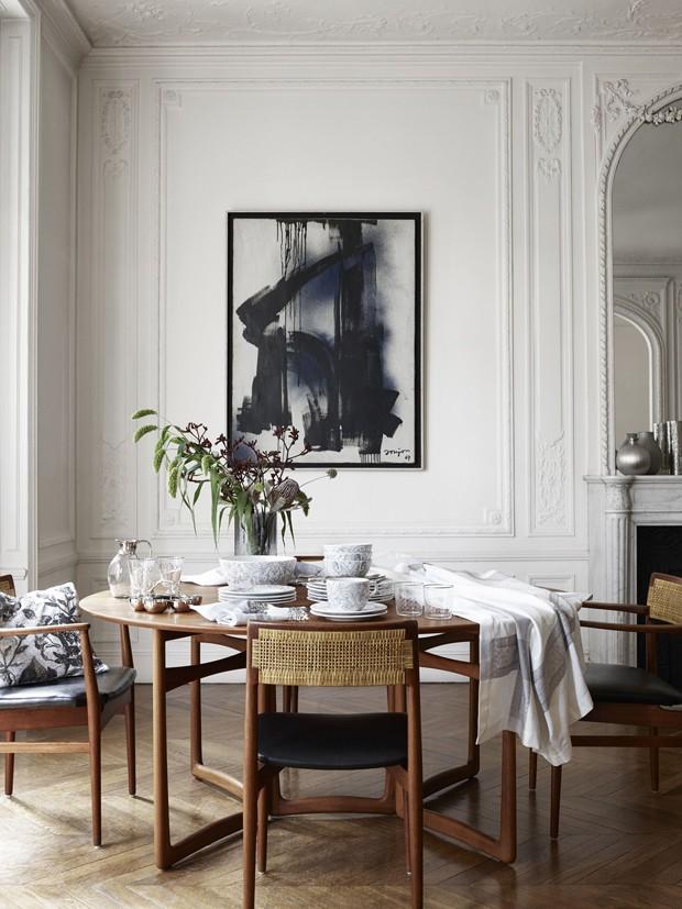 Décor do dia: sala de refeições minimalista e elegante