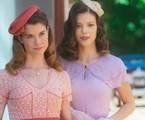 'Espelho da vida': Dora (Alinne Moraes) e Julia (Vitória Strada) são irmãs | TV Globo