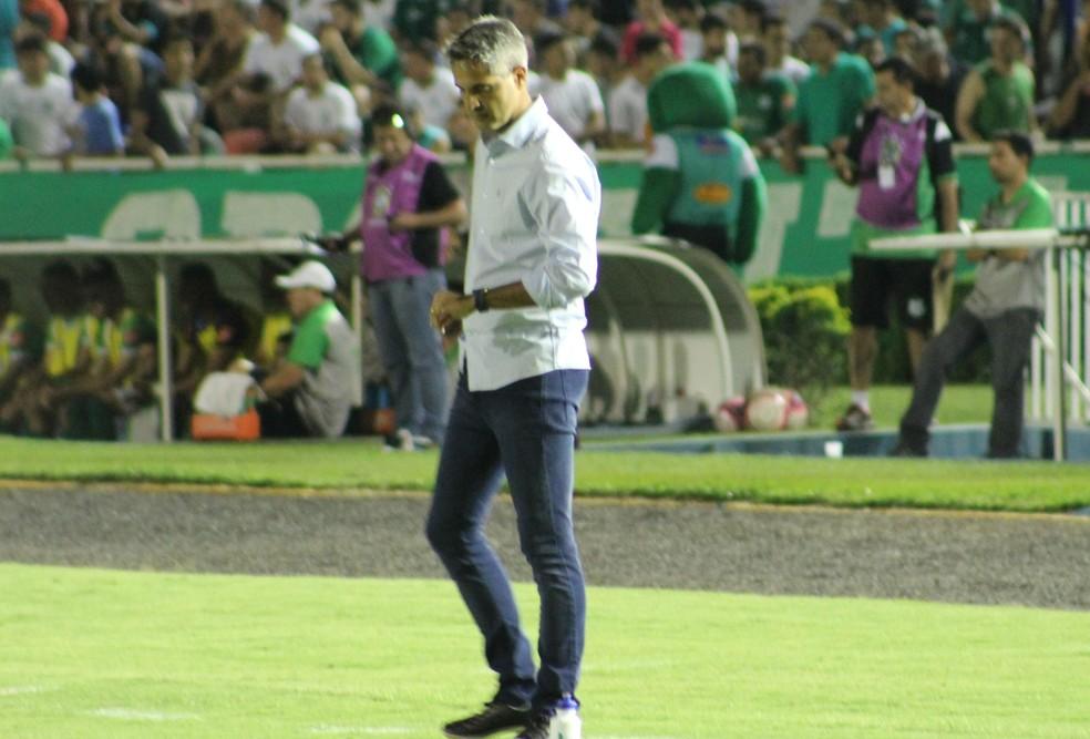 Rodrigo Santana; URT; treinador; (Foto: Lucas Papel)