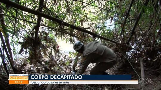 Corpo sem cabeça é encontrado em rua de Hidrolândia, em Goiás