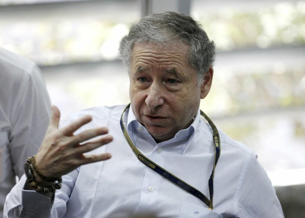 Jean Todt é presidente da FIA e tem boa relação com Massa (Foto: AP )