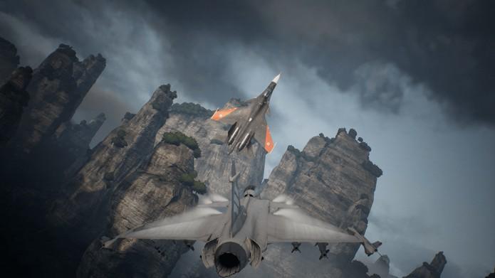 Review Ace Combat 7 | TechTudo
