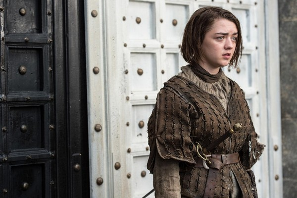 Maisie Williams como Arya Stark  em cena da 5ª temporada de 'Game of Thrones' (Foto: Divulgação HBO)