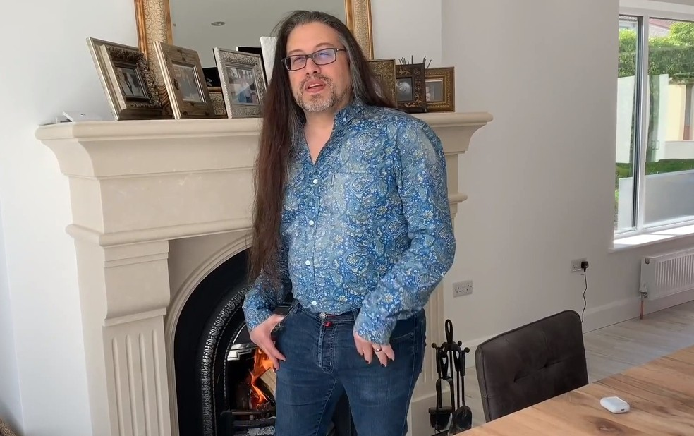 John Romero é conhecido pelo seu trabalho em DOOM, Wolfenstein 3D e Quake. — Foto: Divulgação/Brasil Game Show