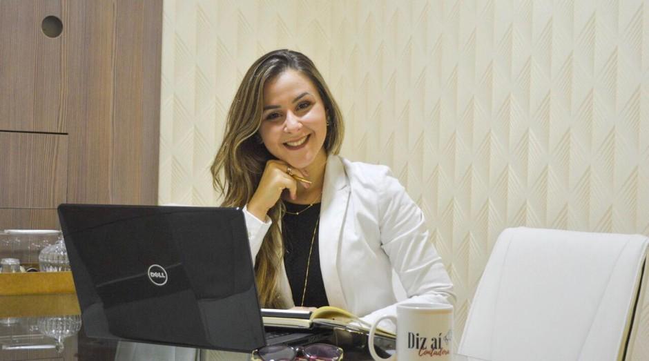 Catarina Amaral, digital influencer contábil e palestrante do We Are Omie (Foto: Divulgação)