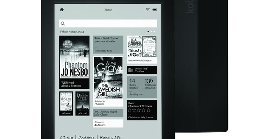 Kobo anuncia o Aura HD, leitor com tela de maior resolução do mercado
