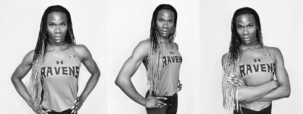 Cece Telfer, primeira velocista trans a vencer o campeonato de atletismo universitário, nos Estados Unidos. — Foto: Divulgação
