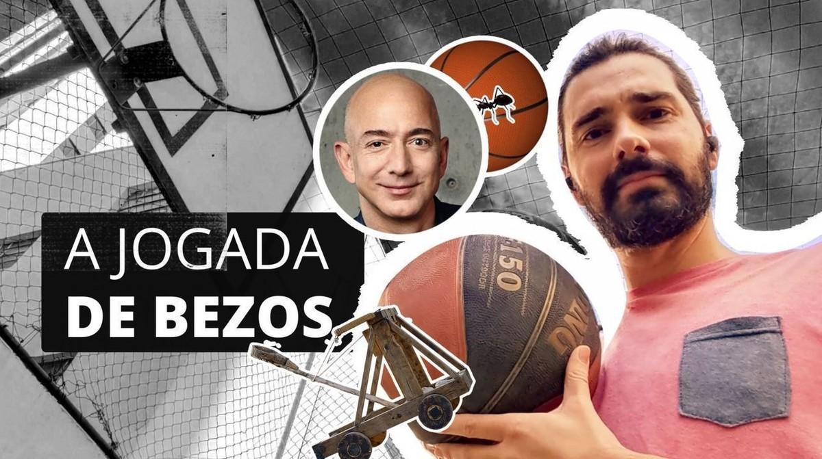 O que a viagem de Bezos ao espaço e um arremesso de basquete têm em comum