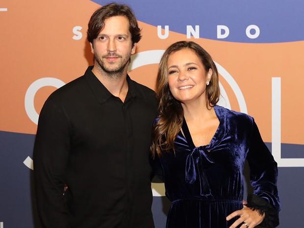 Vladimir Brichta e Adriana Esteves (Foto: Daniel Janssens/ Ed.Globo)